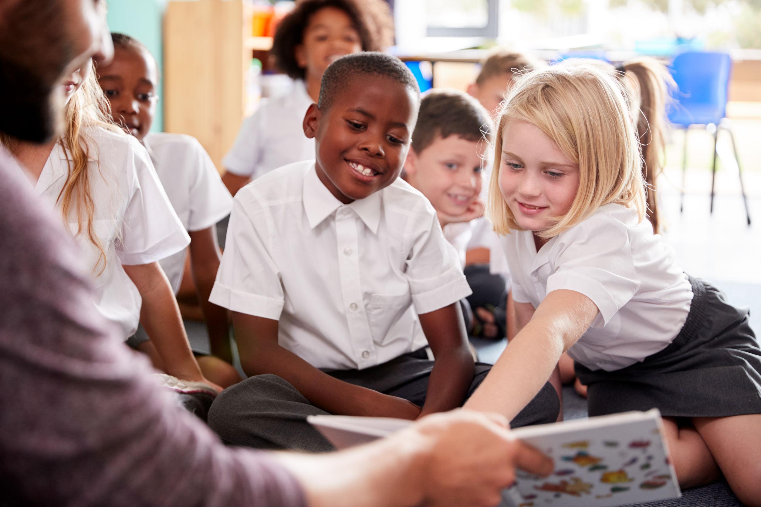 Primary school reading group