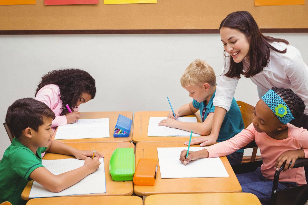 children with SEND at school